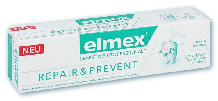 elmex SENSITIVE PROFESSIONAL REPAIR und PREVENT