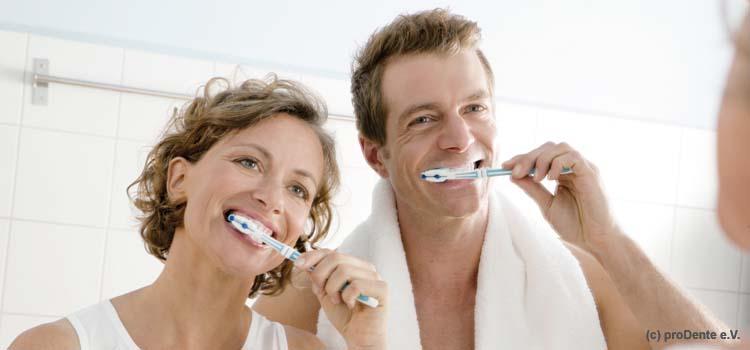 Mundhygiene bei Erwachsenen