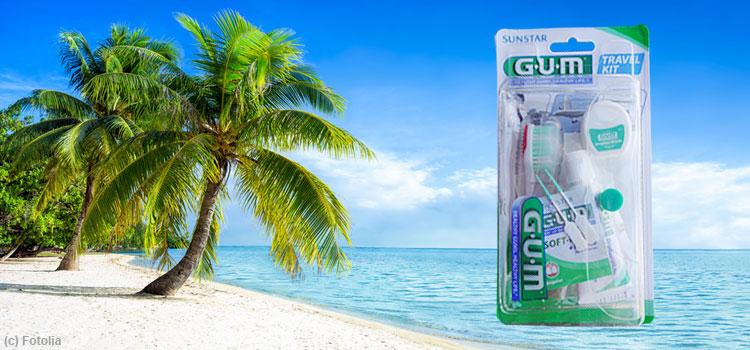 GUM TRAVEL KIT - praktisch, handlich und immer mit dabei