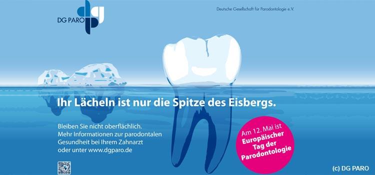 Tag der Parodontologie macht auf die Volkskrankheit Parodontitis aufmerksam