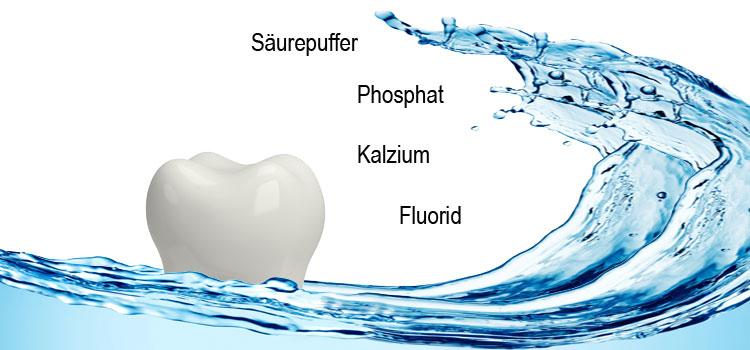 Der Speichel: Gesundbrunnen für die Zähne
