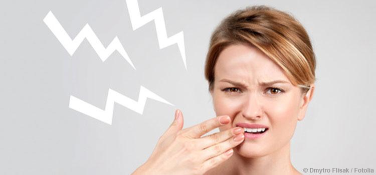 Schmerzen durch überempfindliche Zähne
