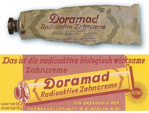 Doramad - die strahlende-Zahncreme