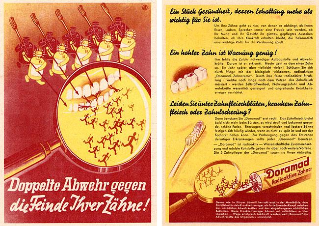 Doramad Werbefaltblatt