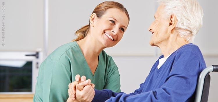 Ratgeber Mundgesundheit bei Pflegebeduertigen