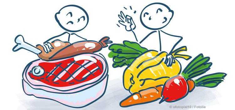 Ernährungschip auf dem Zahn analysiert Nahrung