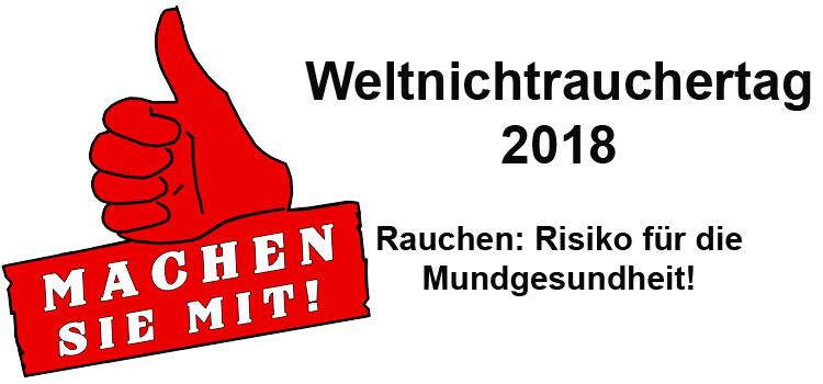 Weltnichtrauchertag 2018