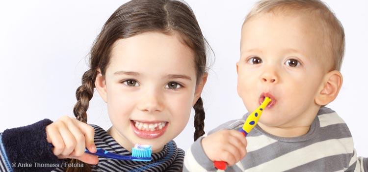 Wie sinnvoll ist Kinder- und Juniorzahnpasta?