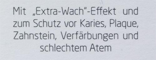 """YUZ energy boost Zahncreme mit dem """"Extra-Wach""""-Effekt"""