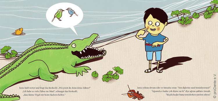 Kinderbücher von proDente.