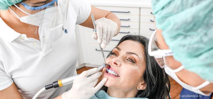Corona bremst Zahnarztbesuche